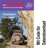 GPS Offroad Tourenbuch Westalpen Gardasee