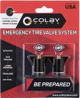 Colby Valve Emergency Valve - schwarz - 2er Pack