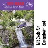 GPS Offroad Tourenbuch Albanien