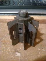 empennage résine-métal pour mortier de 60mm (us)