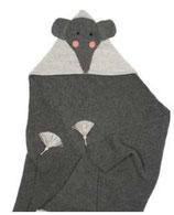 Elefanten-Baby-Decke aus 100 % Baby-Alpaka