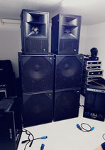 KV2 Audio ES Serie Soundsystem 5000W