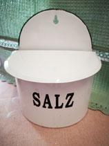 Emaille Salz Vorratsdose zum Hängen