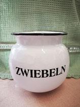 Emaille Zwiebel Topf