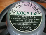 GOODMANS England - AXIOM 112 - 1Paar !