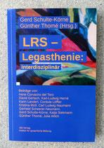 LRS-Legasthenie: interdisziplinär
