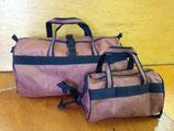 セールバッグ(ブラウン×黒ベルト、筒型)