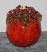 Rosenkugel  verkauft, kann wieder auf Bestellung gemacht werden