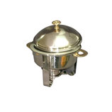 Chafing-dish rond incl. 1 brandpasta