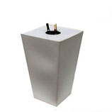 CONIC Champagnestatafel 70x70x110cm
