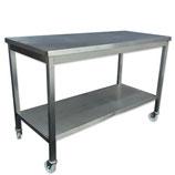 Werktafel RVS 150x70cm