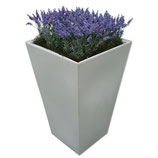 CONIC wit/zwart hoog 110cm met lavendel