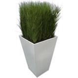 CONIC wit/zwart hoog 110cm met gras
