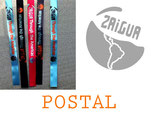 Postal desde el país de tu elección + tu propia pegatina o sticker + sticker y pulsera oficial