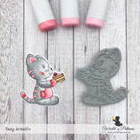 Stempel - Teddy und Freunde - Katze