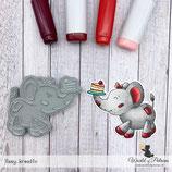 Stempel - Teddy und Freunde - Elefant