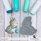 Stempel - Teddy und Freunde - Kaninchen