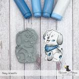 Stempel - Teddy und Freunde - Hund