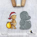 Stempel - Weihnachtsmützenmännlein
