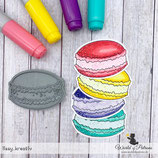 Stempel - Teddy und Freunde - Macaron