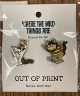 Where the Wild Things Are Enamel Pin Set
