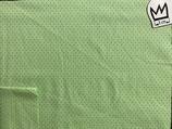 Baumwollstoff  grün 001