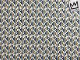 Beschichtete Baumwolle Rauten (Kombistoff zu Mandala)