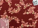 Sommer-Sweat Kirschblüten rot