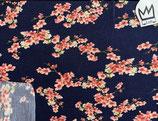 Sommer-Sweat Kirschblüten blau