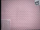 Baumwollstoff  rosa/rot