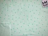 Musselin Dreiecke Mintgrün
