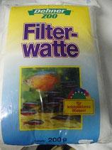 Filterwatte weiß