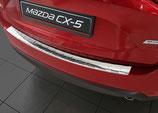 Edelstahl Ladekantenschutz für Mazda CX 5 ab Baujahr 05/2017