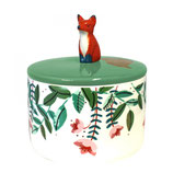 SECRET GARDEN FOX JAR WITH GIFT BOX
