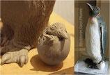 """Skulptur """"Pinguin"""""""