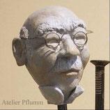 """Skulptur Kopf """"Fritz"""""""