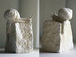 """Skulptur """"Schnecke"""""""