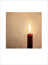Kerze, Kunstkarte