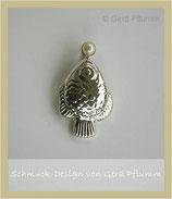 Anhänger, Fisch mit Perle