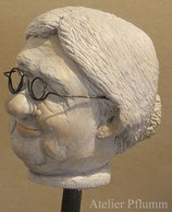 "Skulptur Kopf ""Mina"""