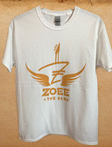 WHITE AND GOLD WINGS - Zoee & The Band Shirt
