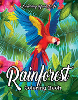 Coloring Book Cafe - Rainforest