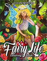 Coloring Book Cafe - Fairy Life
