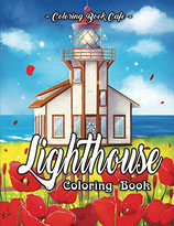 Coloring Book Cafe - Lighthouse