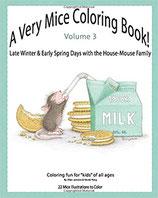 Ellen Jackerie - A Very Mice Coloring Book 3