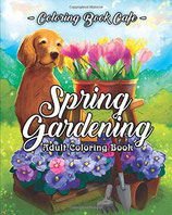 Coloring Book Cafe - Spring Gardening