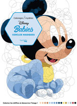 Disney Babies - Cirkels kleuren op nummer