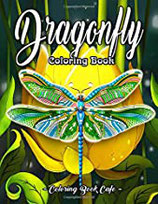 Coloring Book Cafe - Dragonfly