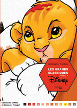 Disney Les Grands Classiques 4 - Kleuren op nummer