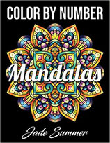Jade Summer - Color by Number Mandalas